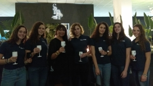 SERIE B2-C. Eventi, le ragazze del Nure Volley presenti all'evento Carpet in love