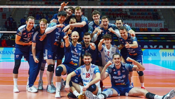CHALLENGE CUP. L'Allianz Powervolley sconfigge l'Halkbank 3-1