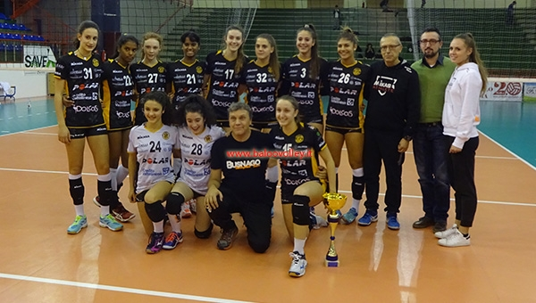 UNDER 16. Trofeo Taverna, le Stelle del Volley si inchinano a Busnago