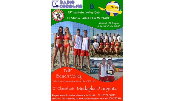 NEWS. Il beach volley giovanile protagonista a Volleydab