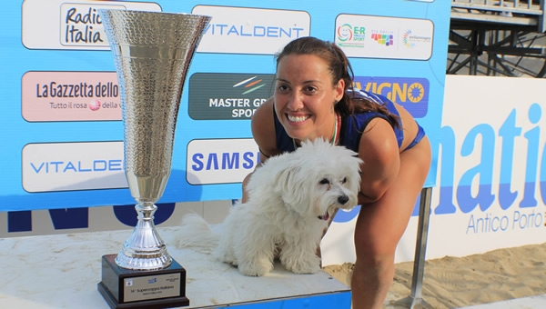 "SAND VOLLEY. Valeria Caracuta la Queen of the beach del Lvst 2018: ""E' stata dura riconfermarsi"""